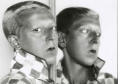 @Claude Cahun,autoportrait au miroir, 1928