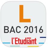 Bac L l'étudiant 2016 appli