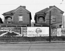 @Walker Evans, Houses and Billboards (1936)