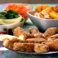 Riktig hverdagsmat - sunne, hjemmelagde fiskepinner