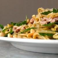 10 minutters middag - sunn pasta med tunfisk