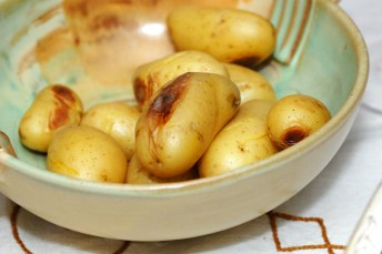 Nykokte poteter. Foto: Lise von Krogh.