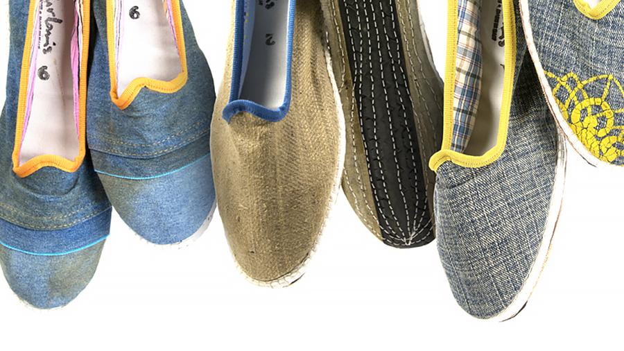 scarpets friulane artigianali lino