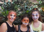 Wonderful face painting by Rainbow Face Painting