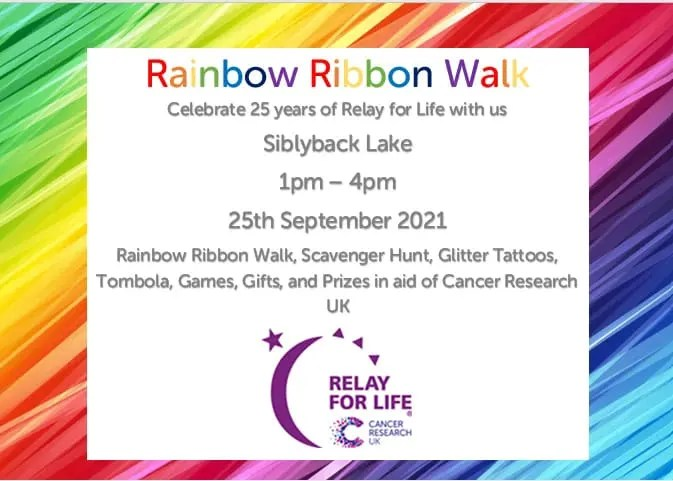 Notice of Ultimate Relay event at Siblyback Lake