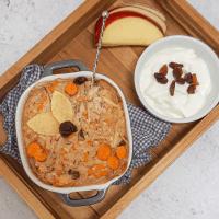 Carrotcake baked oats