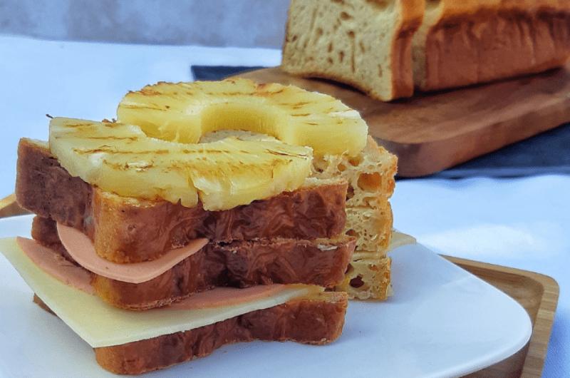 Peterselie kwarkbrood