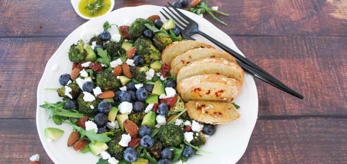 Geroosterde broccoli salade