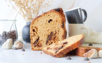 Makkelijk glutenvrij zoet gevuld brood