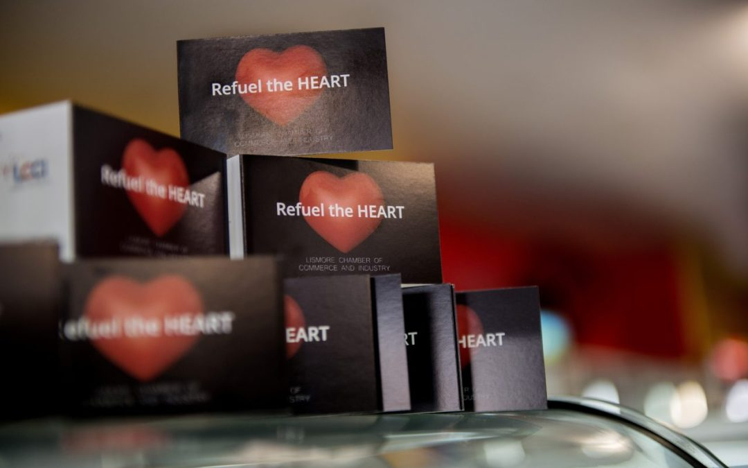 REFUEL THE HEART – Shop in Lismore and WIN!