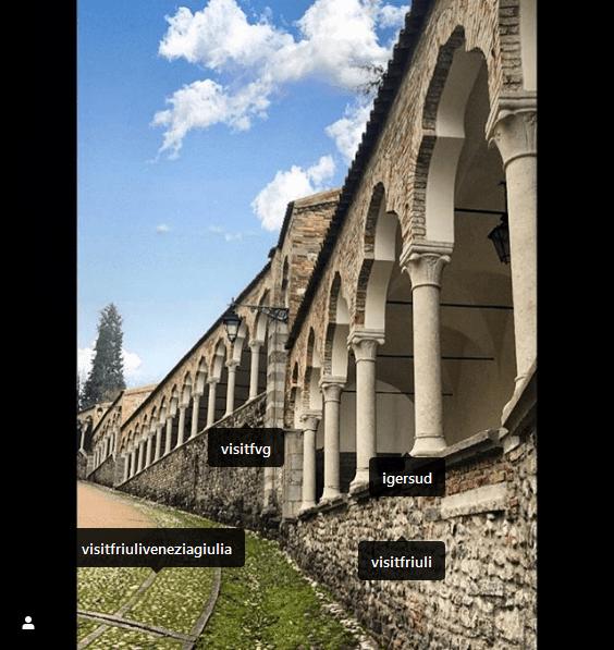 Screenshot_2020-03-30 daniele nabissi su Instagram Castle #udine #castellodiudine #castello #castle #arches #stairway #friu[...]