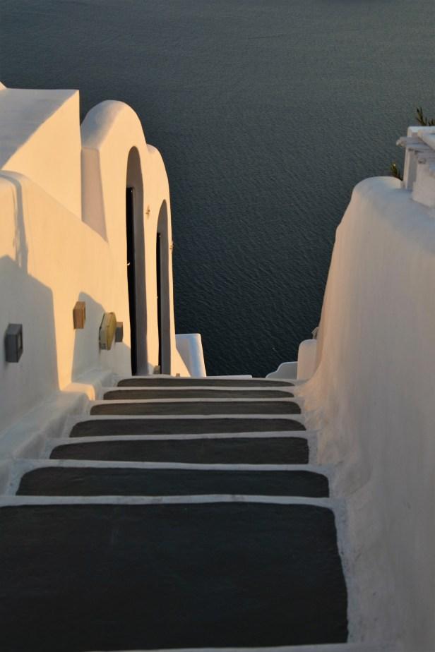 Scivolando nel blu dell'Egeo