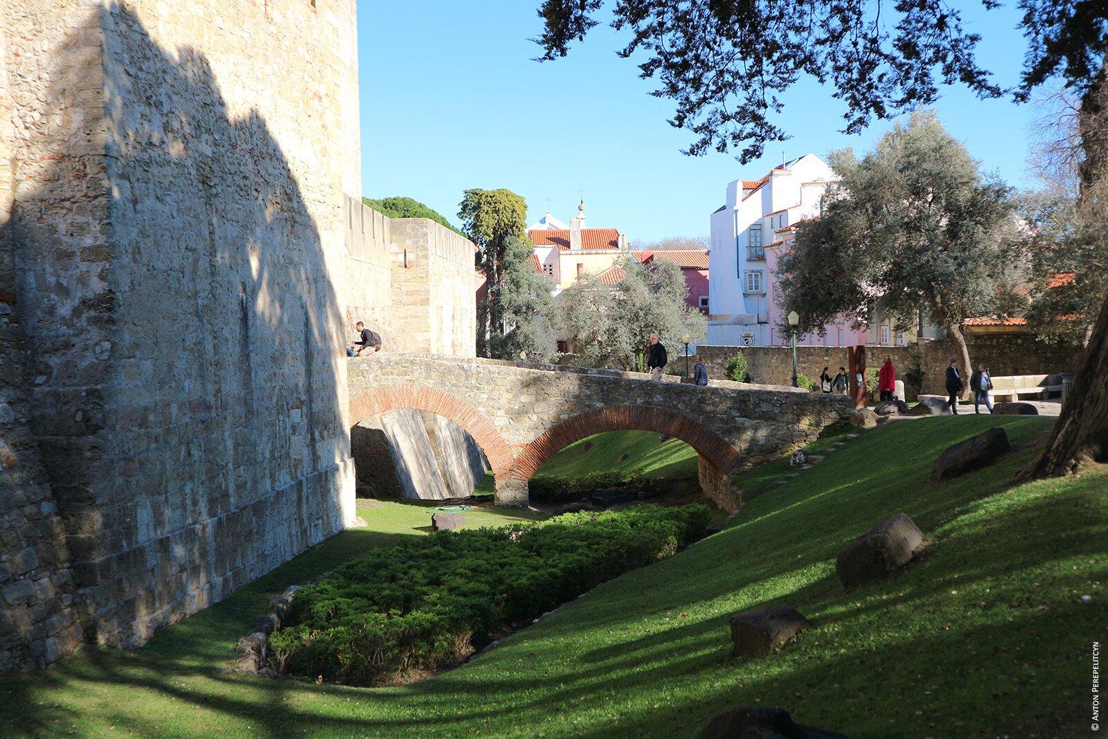 Стены Замка Святого Георгия