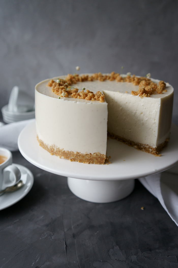 Coconut Cheesecake no-bake