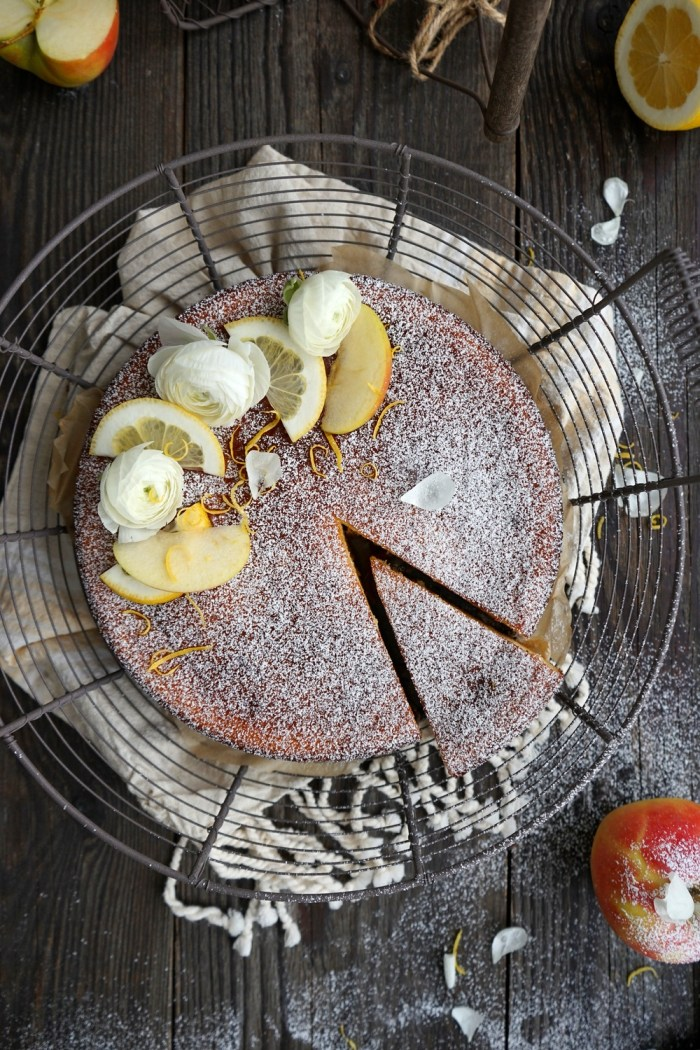 Apfel-Quarkkuchen