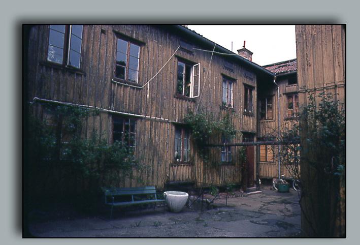 Gård på Husargatan