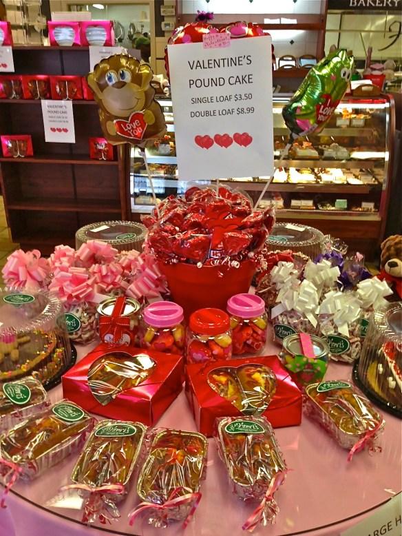 Henri's Bakery has tables full of sweet treats