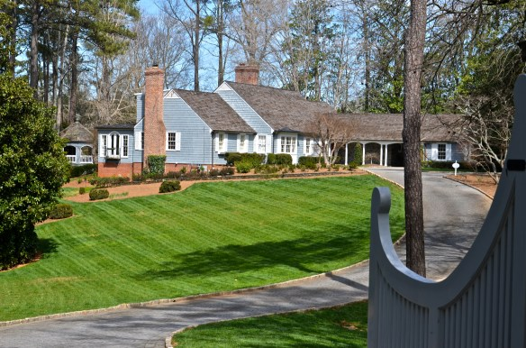 The perfect setting for a house—love the gazebo on the left—pool is near the gazebo