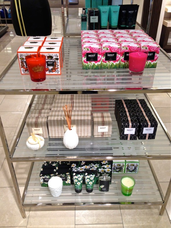 New favorite are these NEST candles by Laura Slatkin