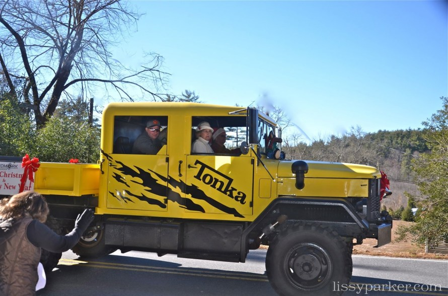 Life size Tonka trucks were there