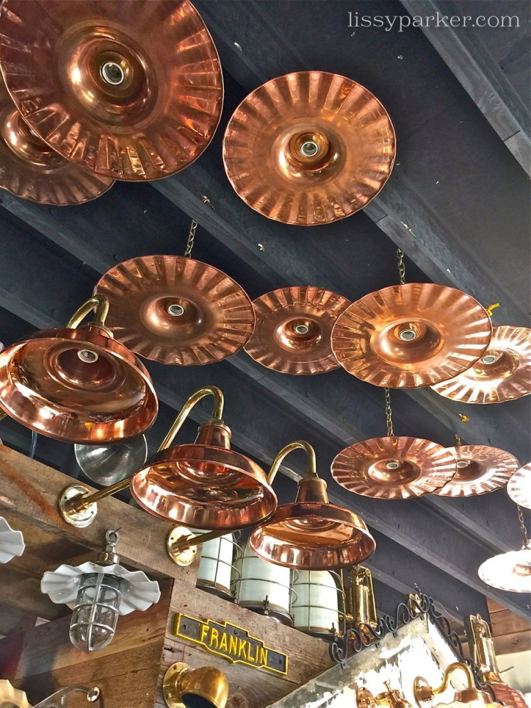 Copper and Brass ruffled deights