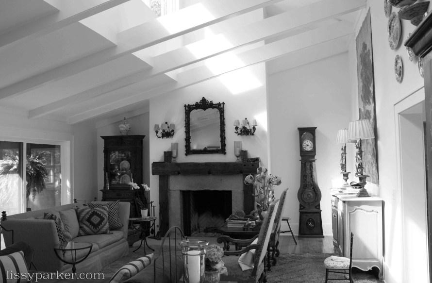 Floods of light in the living room