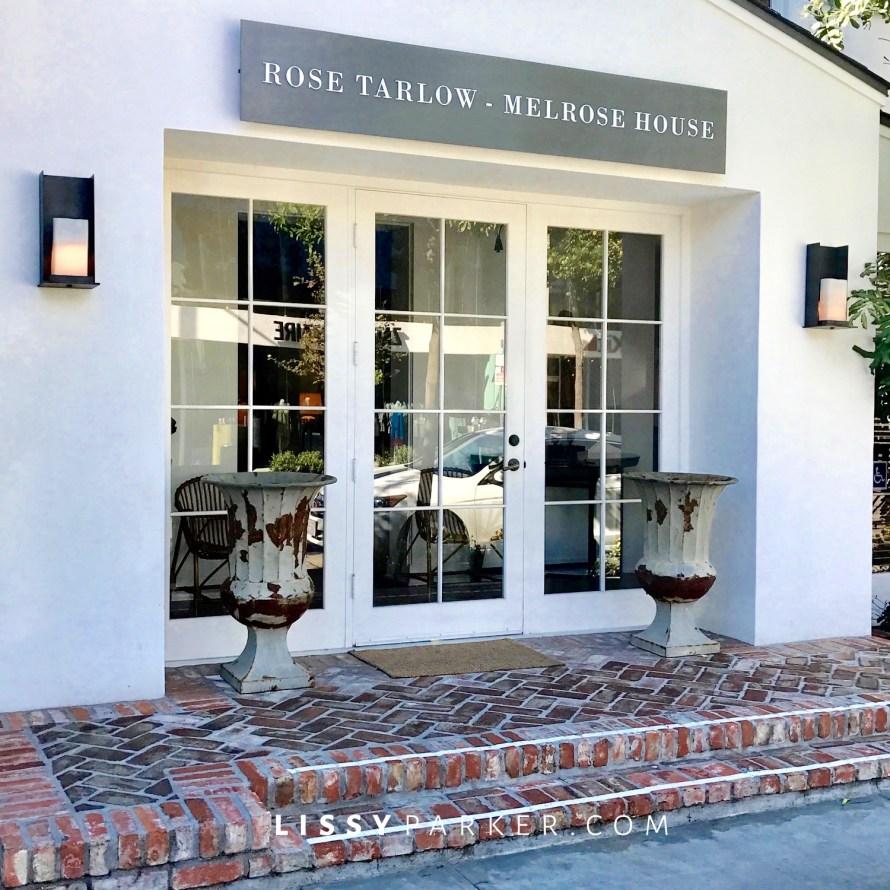 Rose Tarlow store