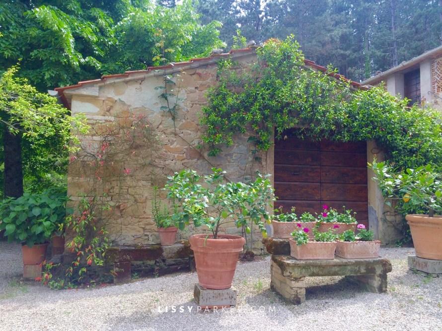 Tuscan garage
