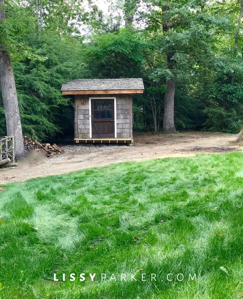 custom garden shed.