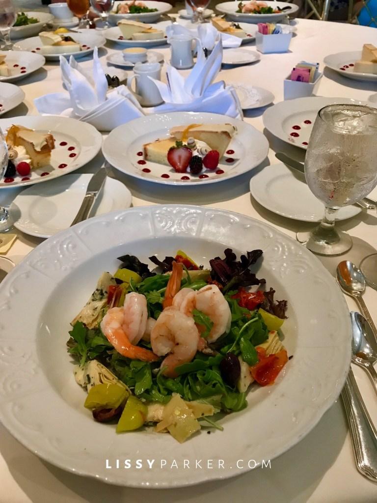 luncheon of shrimp