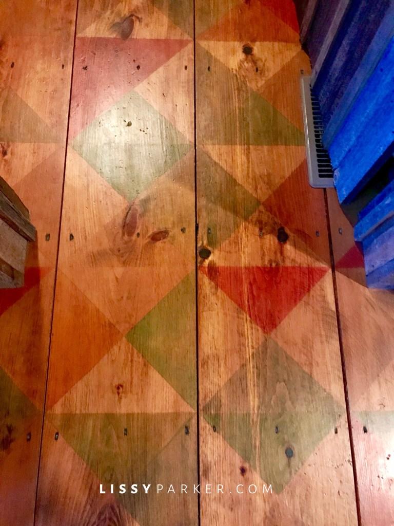 painmted floors