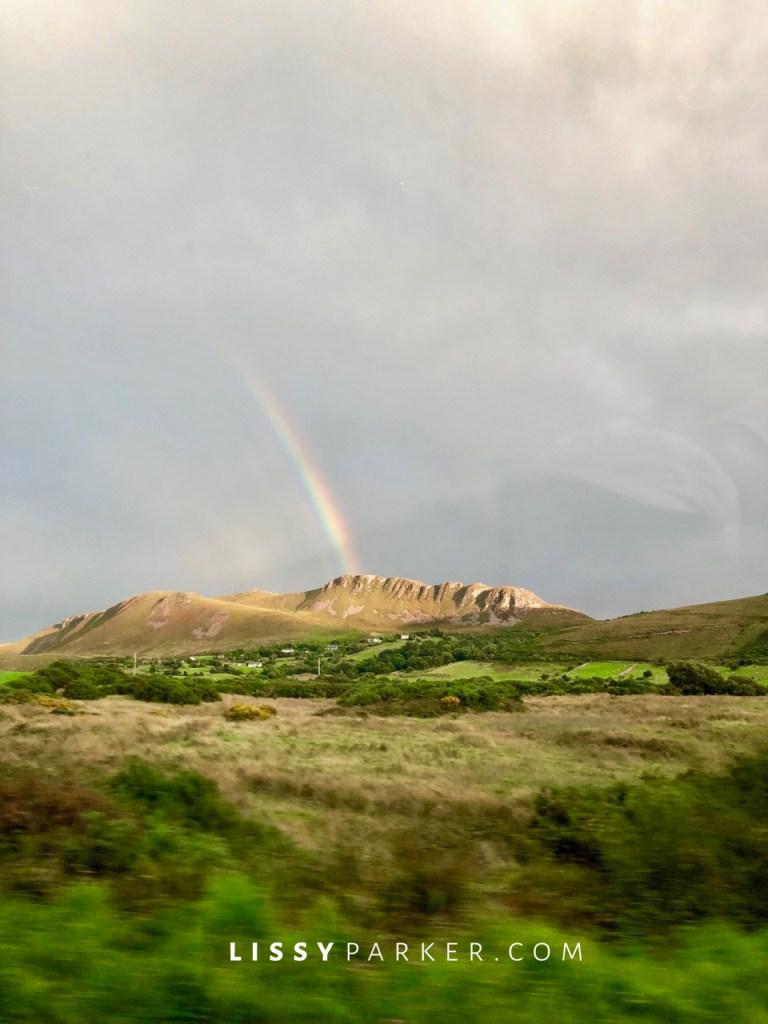 Ireland rainbow