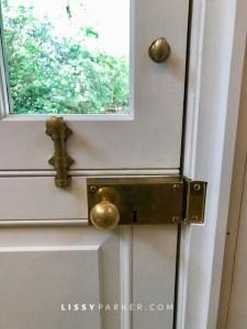 Dutch door hardware