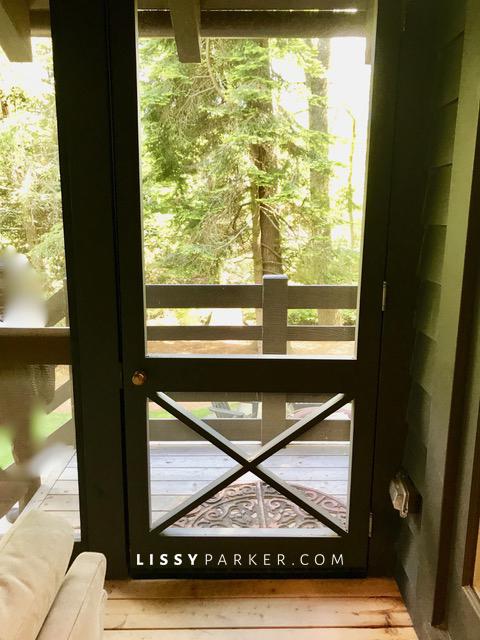 Cooper screened door