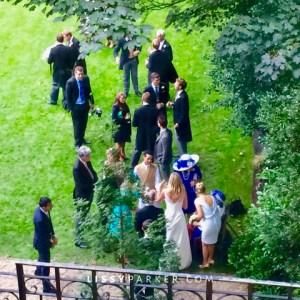 Irish, English wedding