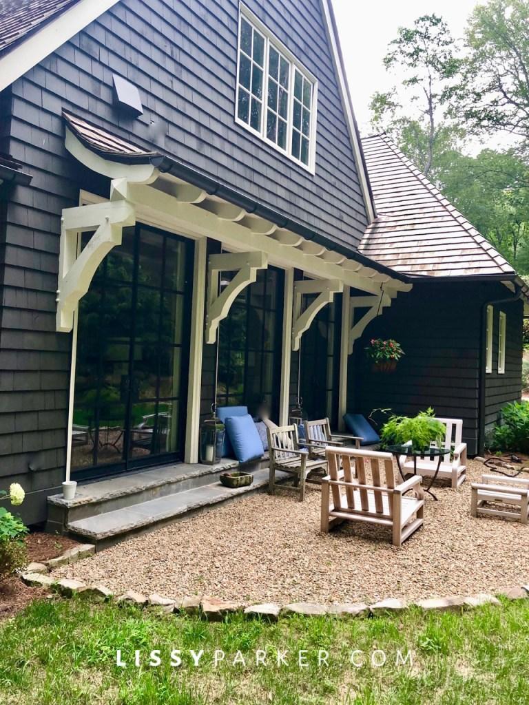 Betsy' new house
