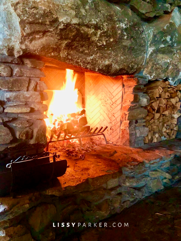 Fireplace at Mt Top