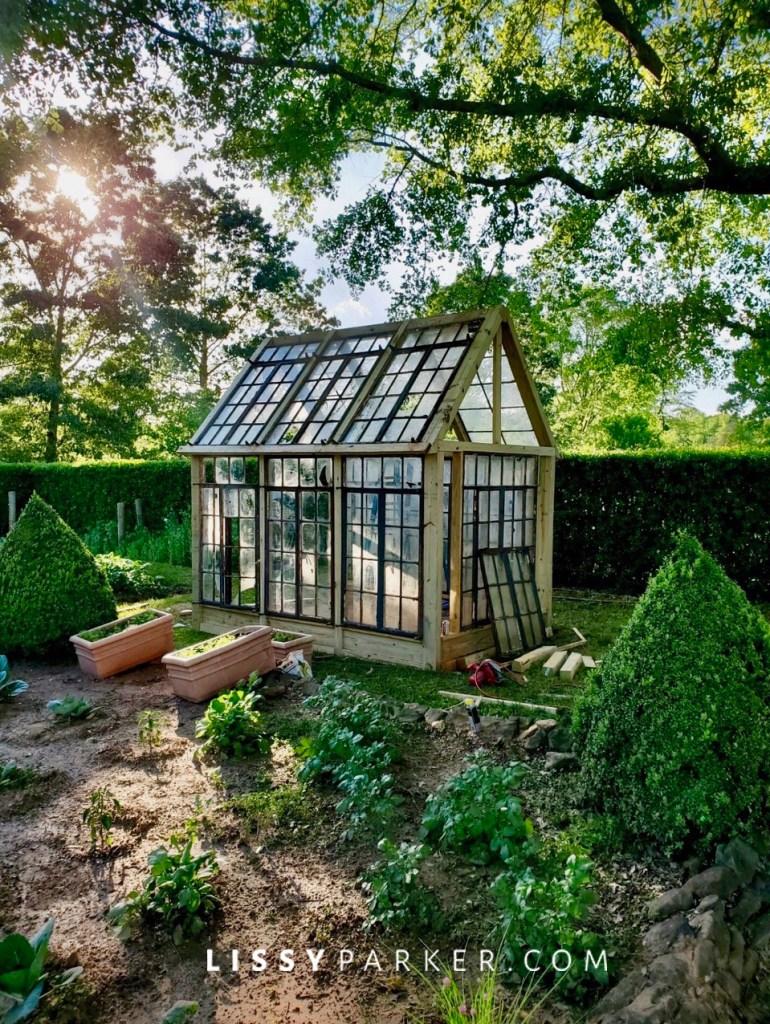 Randy's greenhouse