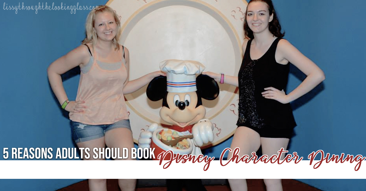 disney character dining for adults