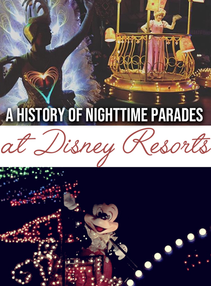 A Trip Down Memory Lane – the Disney Electrical Parades