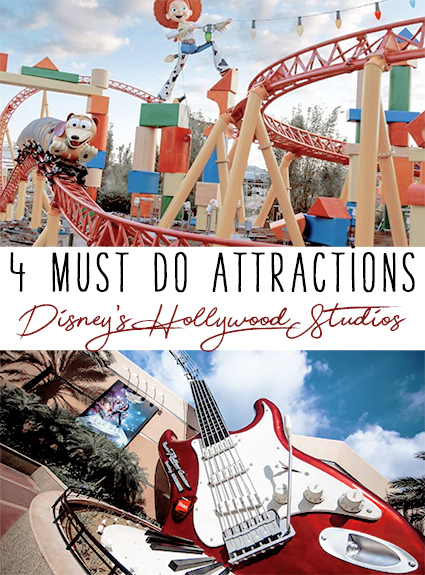 Best Attractions at Disney's Hollywood Studios