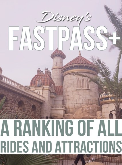 Fastpass+ at Disney World – All Rides RANKED!
