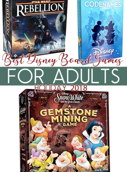 Best Disney Board Games – For Adults!
