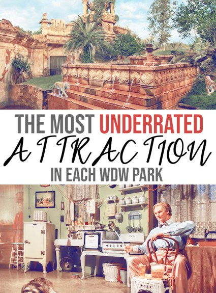 Most Underrated Attraction in Each Disney Park