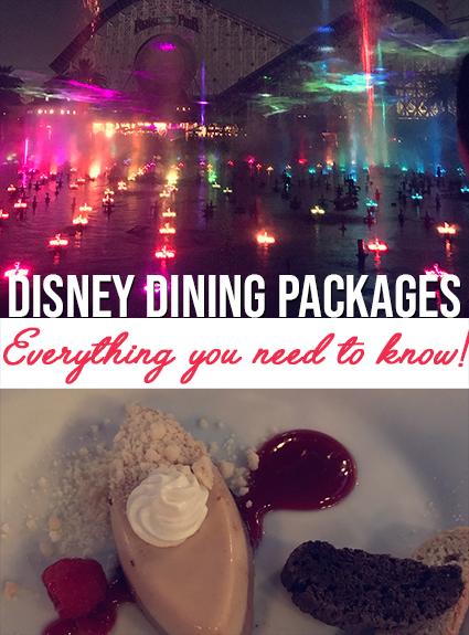 disney dining package