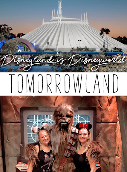 Tomorrowland – Disneyland vs Disney World