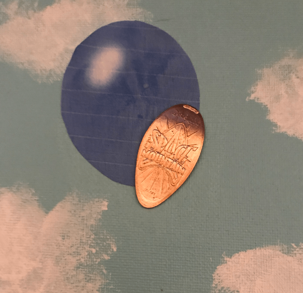 disney pressed penny display