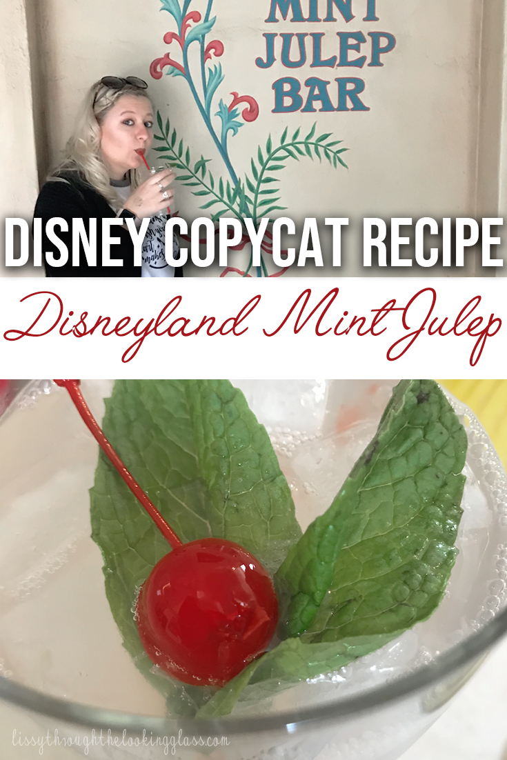 disneyland mint julep recipe