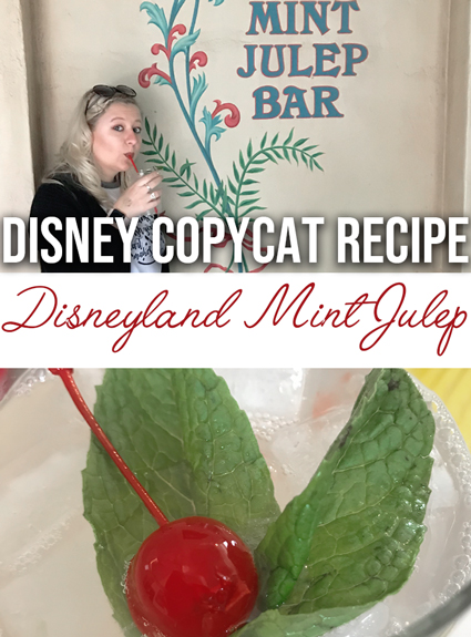 disneyland mint julep recipe