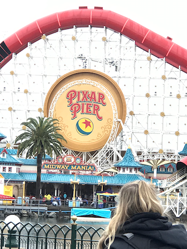 pixar pier california adventure